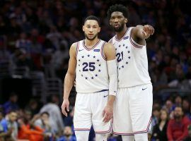 Ben Simmons and Joel Embiid led the Philadelphia 76ers to the best record in the Eastern Conference and were named to the All-Star team once again. (Image: Getty)