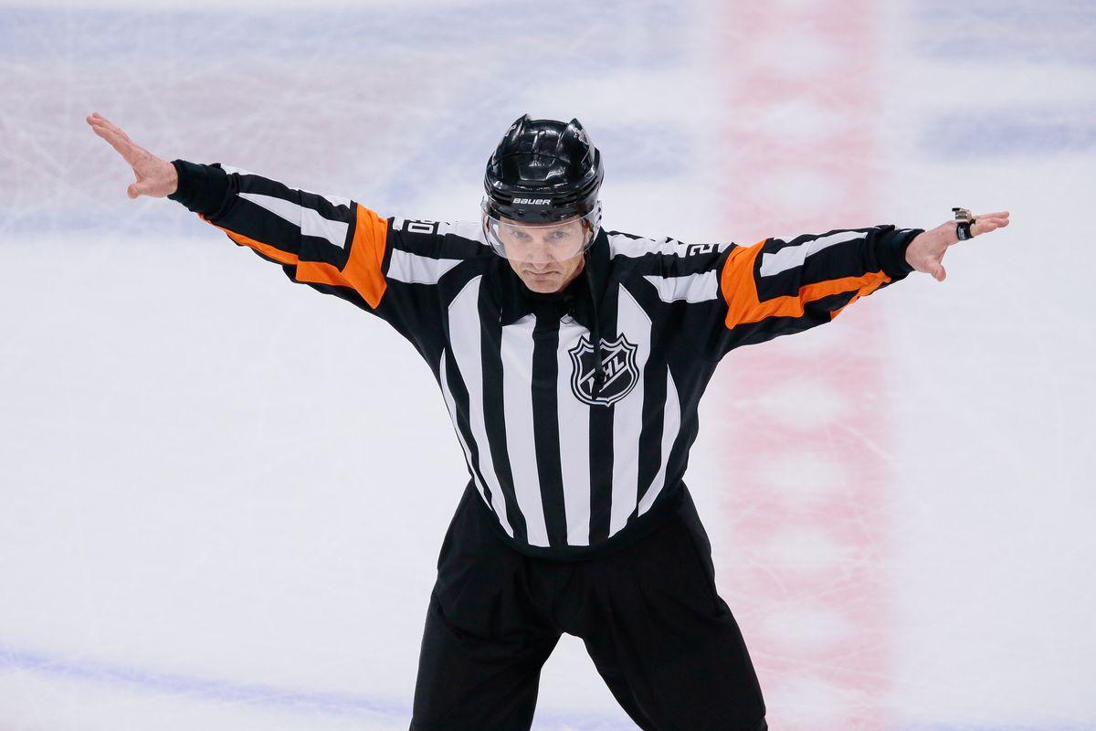 Tim Peel NHL menembak