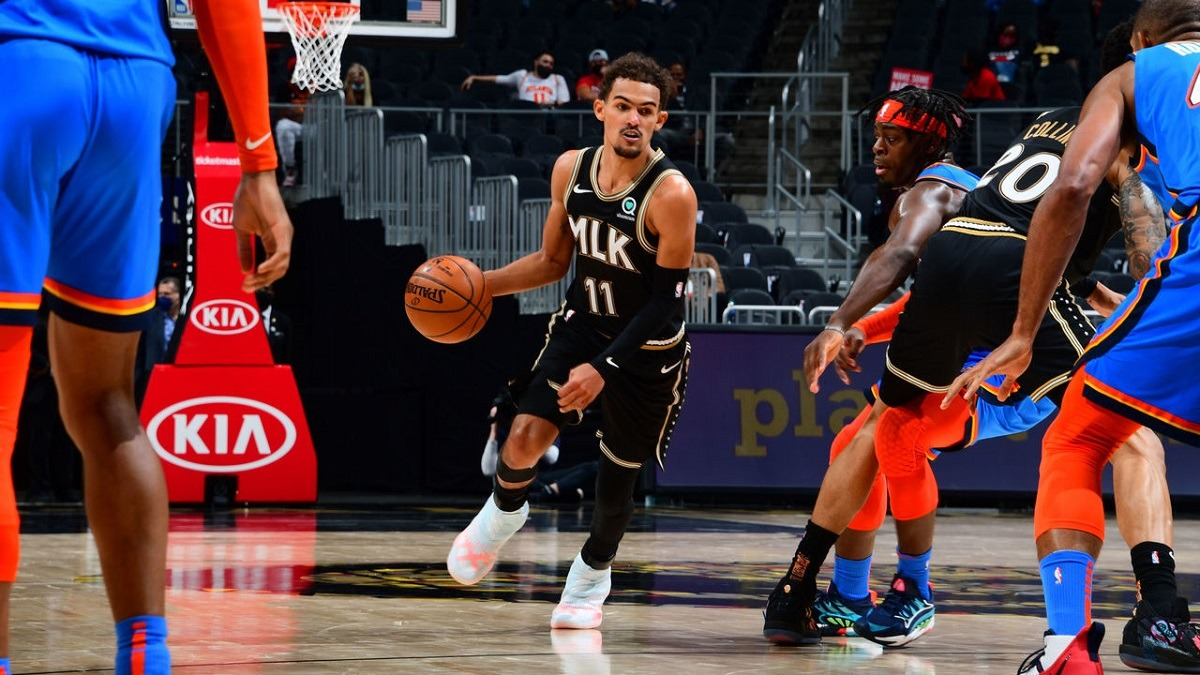 Trae Young Atlanta Hawks LA Lakers kalah telak dari Phoenix Suns Houston Orlando Toronto