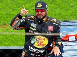 Martin Truex Jr. is among the favorites to win the Pennzoil 400 at Las Vegas Motor Speedway on Sunday. (Image: Mark J. Rebilas/USA Today Sports)
