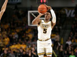 The NCAA declared the first-round March Madness game between Oregon and VCU a no-contest after the Rams reported multiple positive COVID-19 tests within their program. (Image: Ryan M. Kelly/Getty)