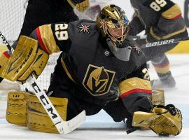 The Vegas Golden Knights promptly cancelled a partnership with tour service UpickTrade.com after just three days. (Image: David Zalubowski/AP)