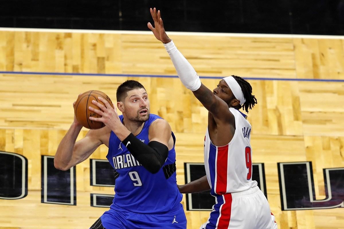 Detroit Pistons Orlando Magic Boston Celtics trade rumors Nikola Vucevic Jerami Grant