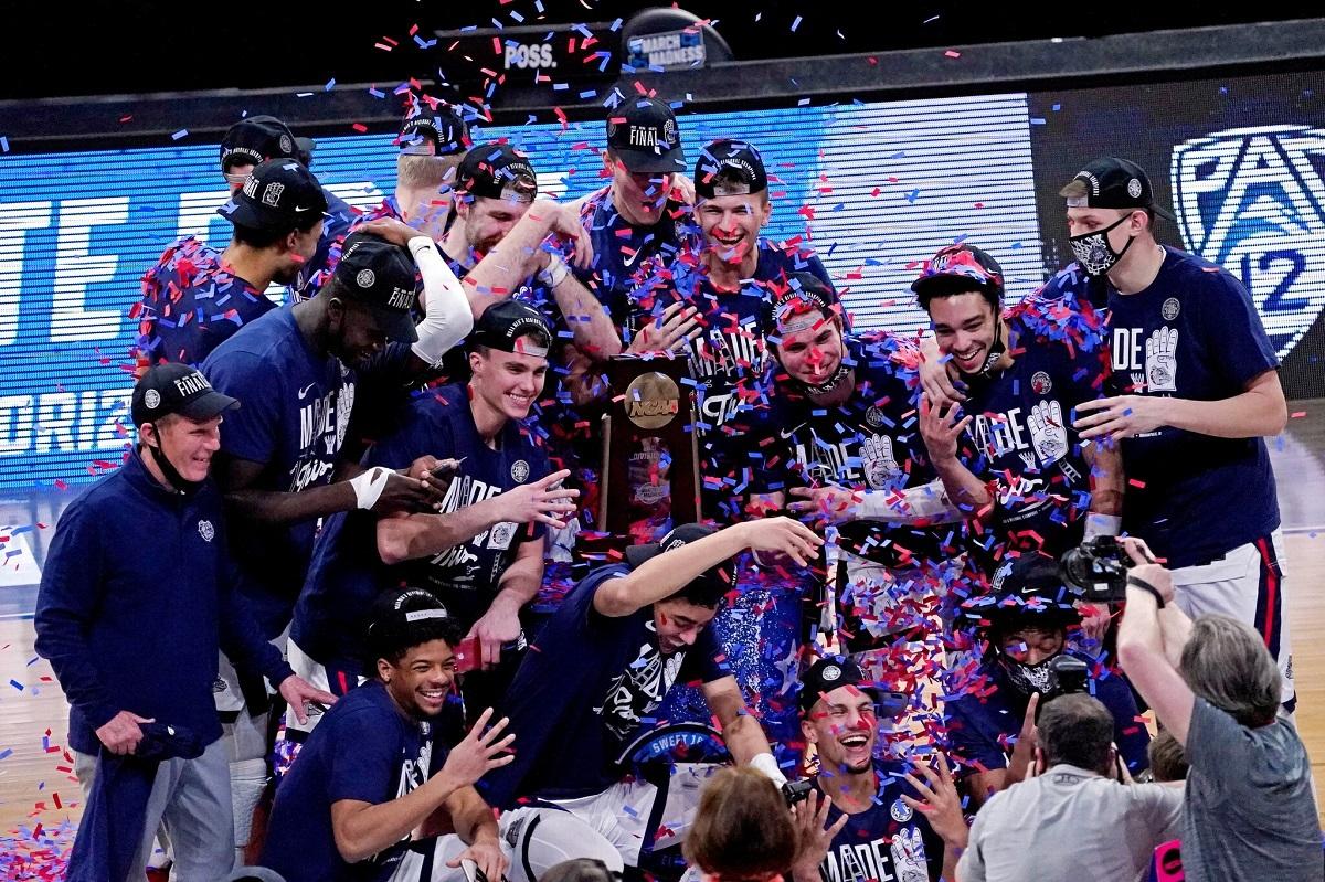 March Madness Final Four Odds Baylor Gonzaga UCLA Houston 2021