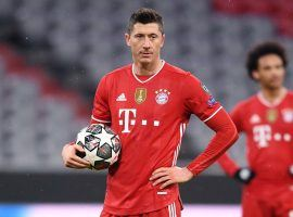 Lewandowski will not play for a month because of his injury while on duty with the Polish National team (Photo: fcbayern.com)