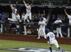 The Los Angeles Dodgers enter the 2021 MLB season as the favorites to win a second straight World Series title. (Image: Tony Gutierrez/AP)