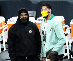 LeBron James Anthony Davis LA Lakers injury update