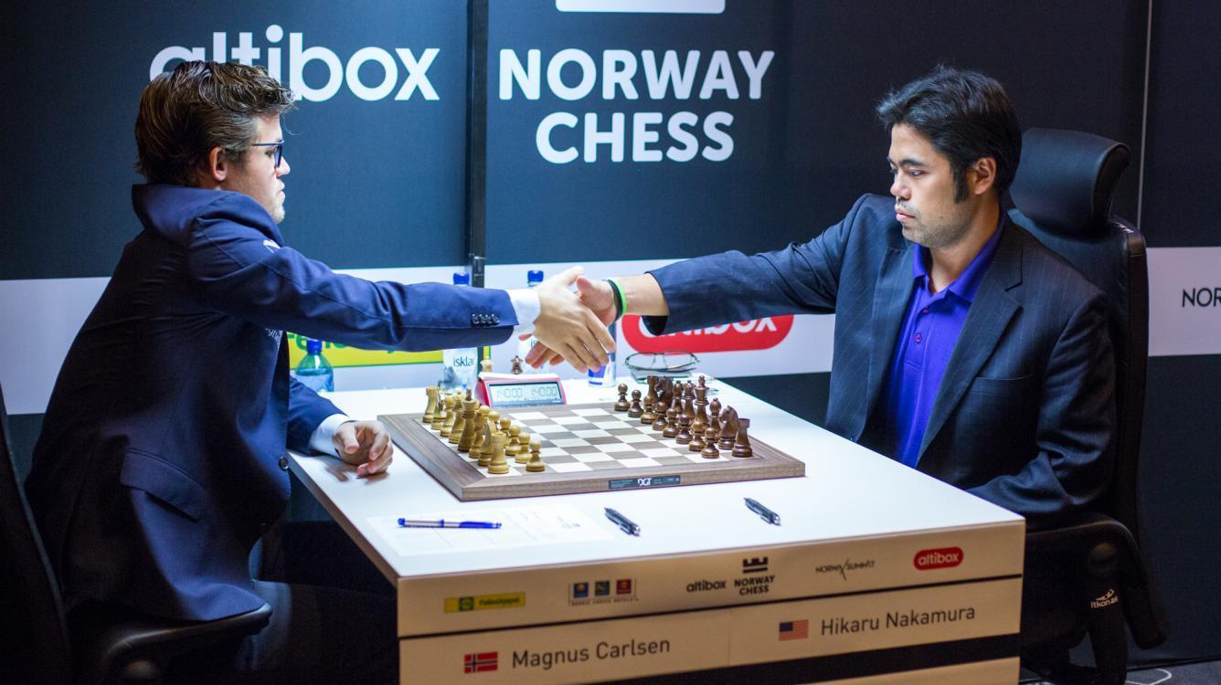 Carlsen Nakamura odds