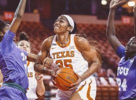 Charlie Collier expects to be the first overall pick in the 2021 WNBA Draft on Thursday evening. (Image: Texas Athletics)