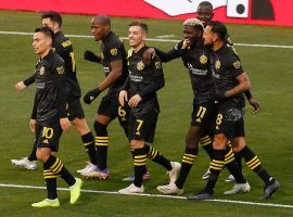 The Columbus Crew enter the season as the co-favorites alongside LAFC to defend their MLS Cup title. (Image: Adam Cairns/Columbus Dispatch) Columbus Crew New York Red Bulls Mls Cup Playoffs