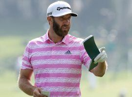 Dustin Johnson failed to defend his Masters title, but still comes in as the favorite at the RBC Heritage this weekend. (Image: Getty)