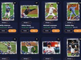 Epic Exclusives come with guaranteed mint limits, making them desirable for investors in the Topps MLB NFT marketplace. (Image: AtomicHub.io)