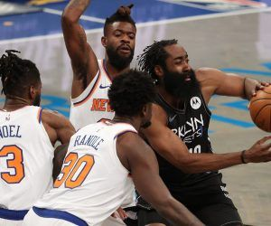 Brooklyn Nets James Harden Hamstring Injury Kevin Durant