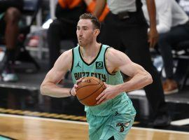 The Charlotte Hornets are in trouble after losing forward Gordon Hayward to a foot injury. (Image: Elias Sklar/Getty)