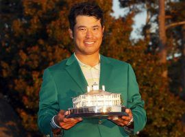 Hideki Matsuyama won the Masters this past weekend, but not many bettors were in position to cash in on that victory. (Image: Getty)