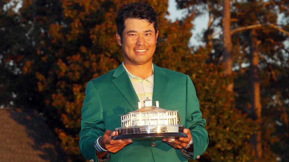 Hideki Matsuyama Masters betting