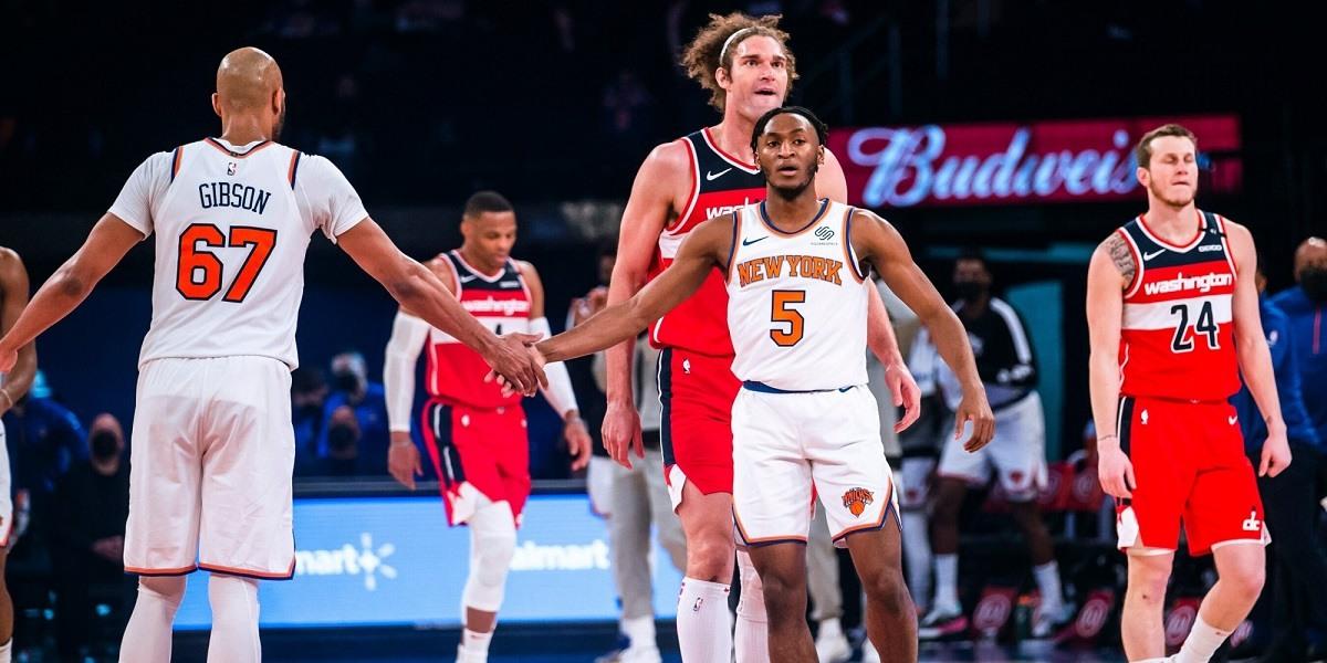 Knicks Wizards winning streak