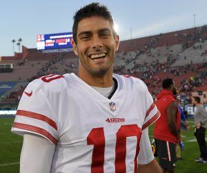 Jimmy G Trade Rumor New England Patriots San Francisco 49ers