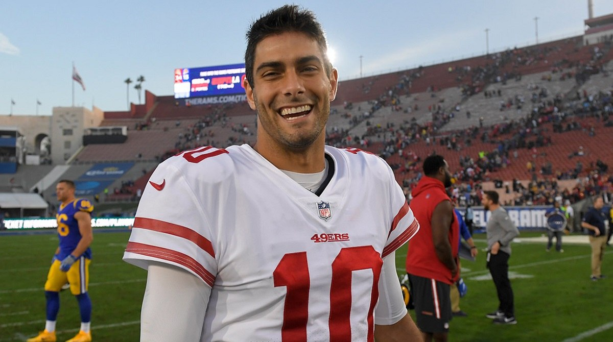 Jimmy G Trade Rumor New England Patriots San Francisco 49ers