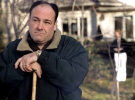 James Gandolfini, seen here portraying Tony Soprano in the HBO series The Sopranos, was asked by the New York Knicks to help them sign LeBron James during 'The Decision' in 2010. (Image: HBO)