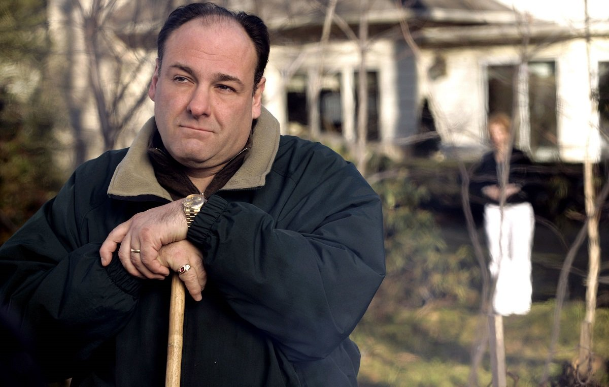 Tony Soprano James Gandolfini LeBron James video Knicks