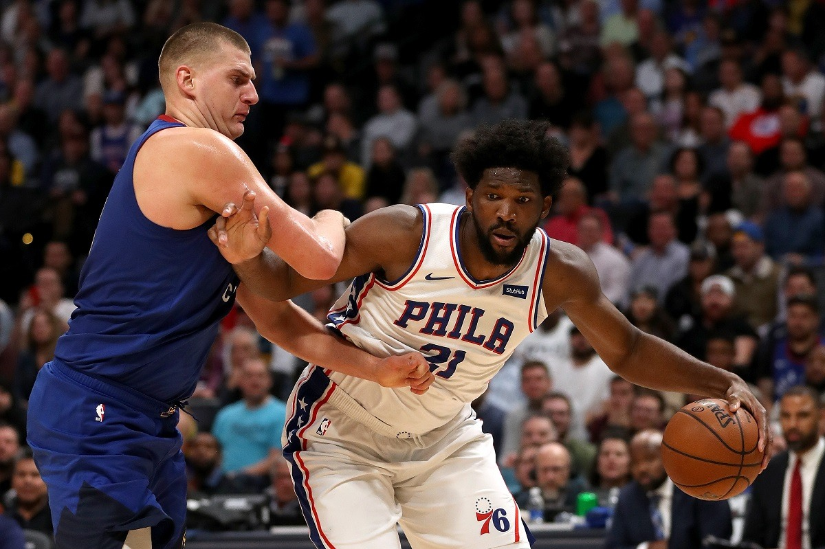 Nikola Jokic Joel Embiid Steph Curry NBA MVP Odds
