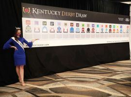 Tuesday morning's draw for the 2021 Kentucky Derby from post 20 Bourbonic to post 1 Known Agenda. Those are two of trainer Todd Pletcher's four entries in Saturday's Run for the Roses. (Image: Churchill Downs)