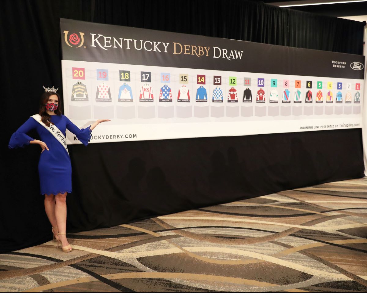 2021 Kentucky Derby draw
