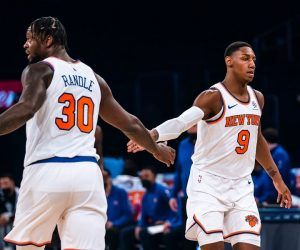 New York Knicks Winning Streak Julius Randle RJ Barrett