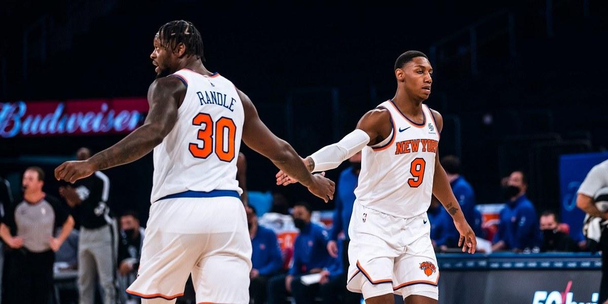 New York Knicks Winnign Streak Julius Randle RJ Barrett