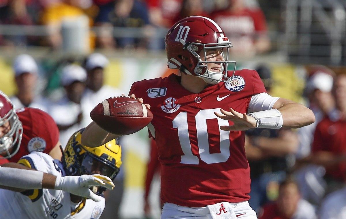 NFL Draft 2021 Prop Bet #3 Pick Mac Jones Trey Lance Justin Fields