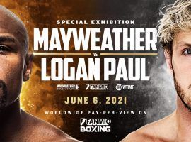 Floyd Mayweather Jr. and Logan Paul have set a date for their exhibition boxing match. (Image: Fanmio.com)