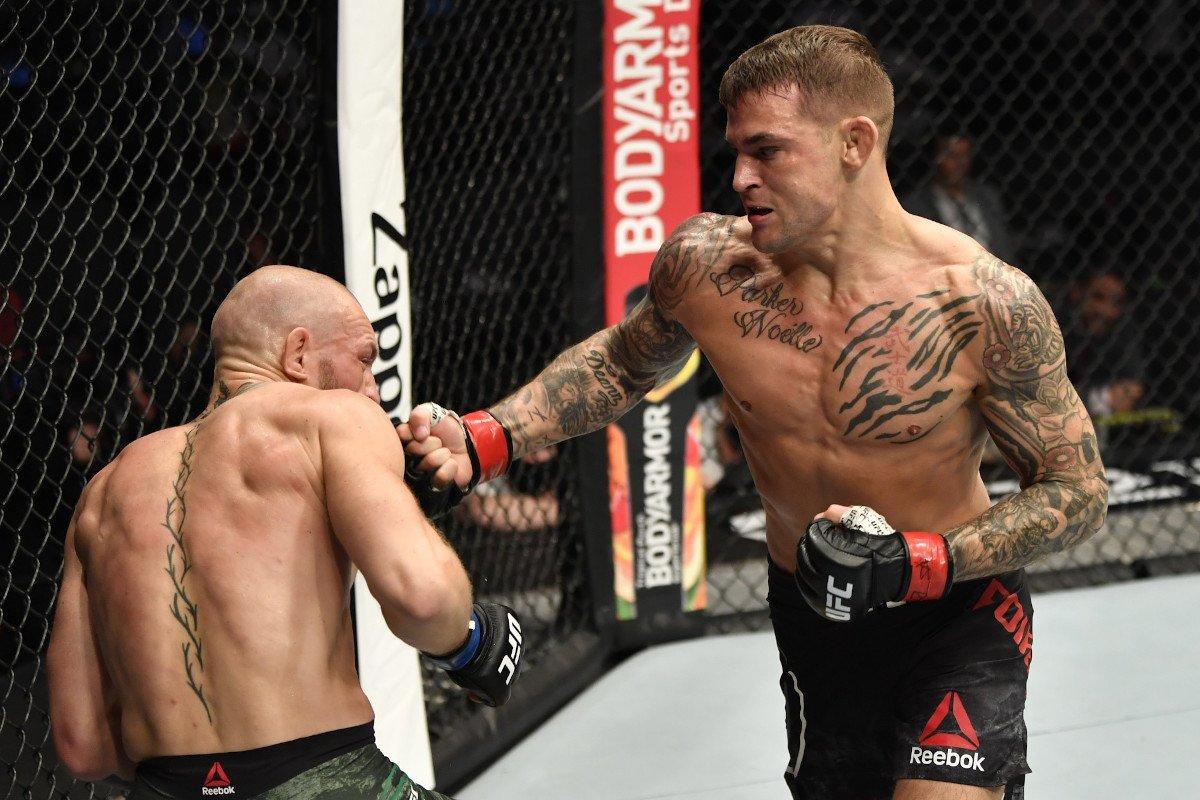 McGregor Poirier donation UFC