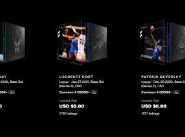 NBA Top Shot moment prices have dropped precipitously in recent weeks, but each pack still contains value for buyers. (Image: NBA Top Shot)