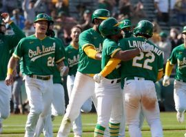 The Oakland A's have won 11 in a row, including a wild walk-off victory over the Minnesota Twins on Wednesday. (Image: Tony Avelar/AP)
