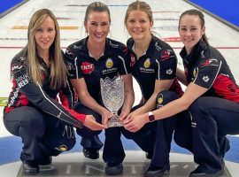Team Rachel Homan won the Champions Cup, and will look to back that up with another title at the Players' Championship. (Image: Mike Cleasby/Grand Slam of Curling)