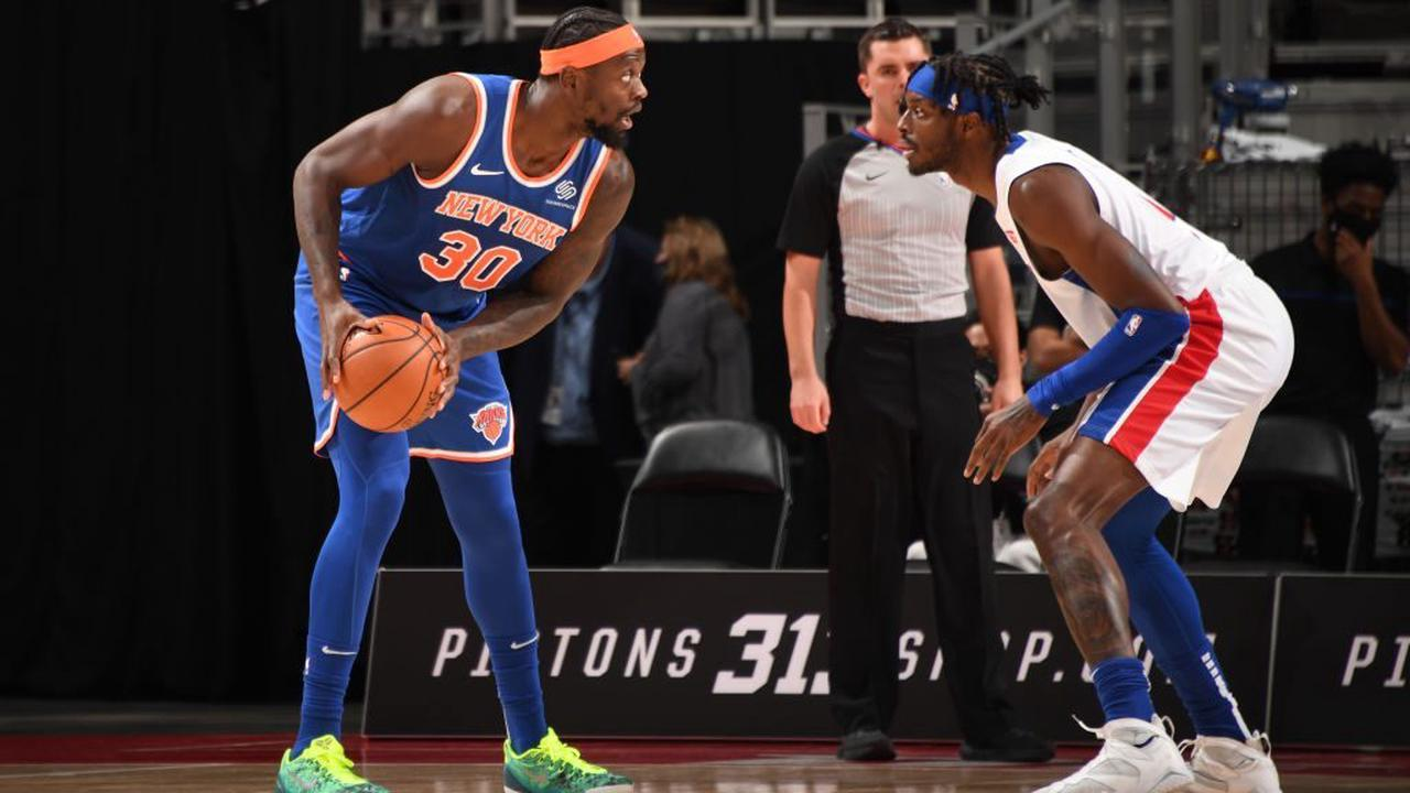 Julius Randle New York Knicks MIP Jerami Grant Detroit Pistons