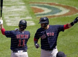 The Boston Red Sox have won six straight games, fueled by offensive outbursts from JD Martinez and Rafael Devers among others. (Image: Julio Cortez/AP)