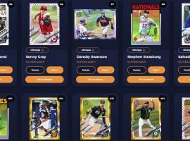 The Topps MLB NFT offering launched in earnest on Tuesday, offering digital collectibles to users but suffering from a rocky pack drop. (Image: Topps Digital)