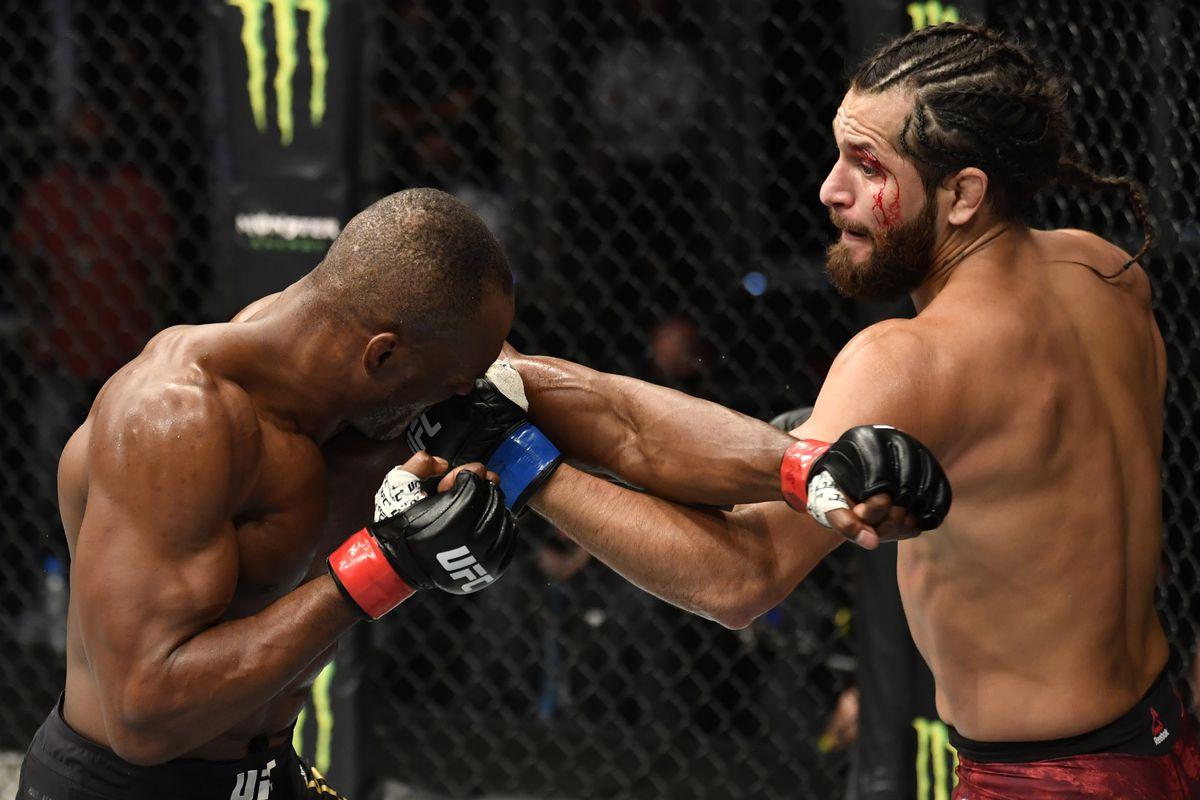 Usman Masvidal odds UFC 261