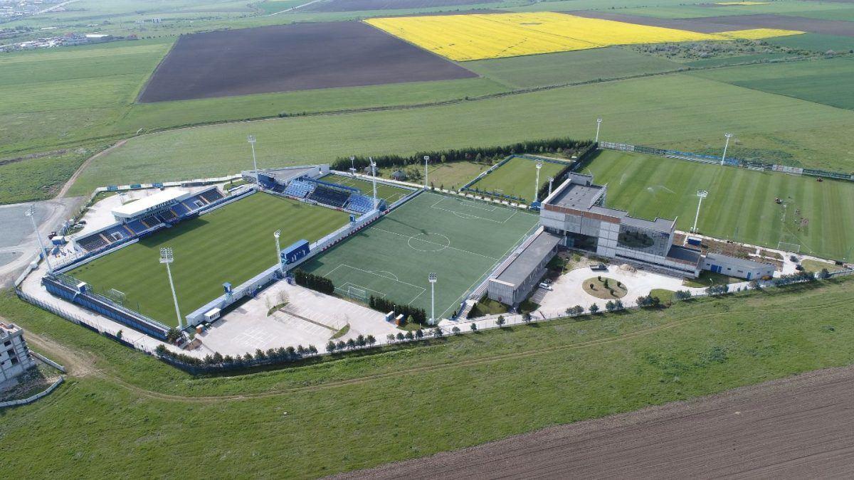 Hagi's Academy, built on the outskirts of Constanta