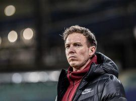 Julian Nagelsmann will replace Hansi Flick as manager of Bayern Munich at the end of the season. (Image: Twitter / @DieRotenBullen)
