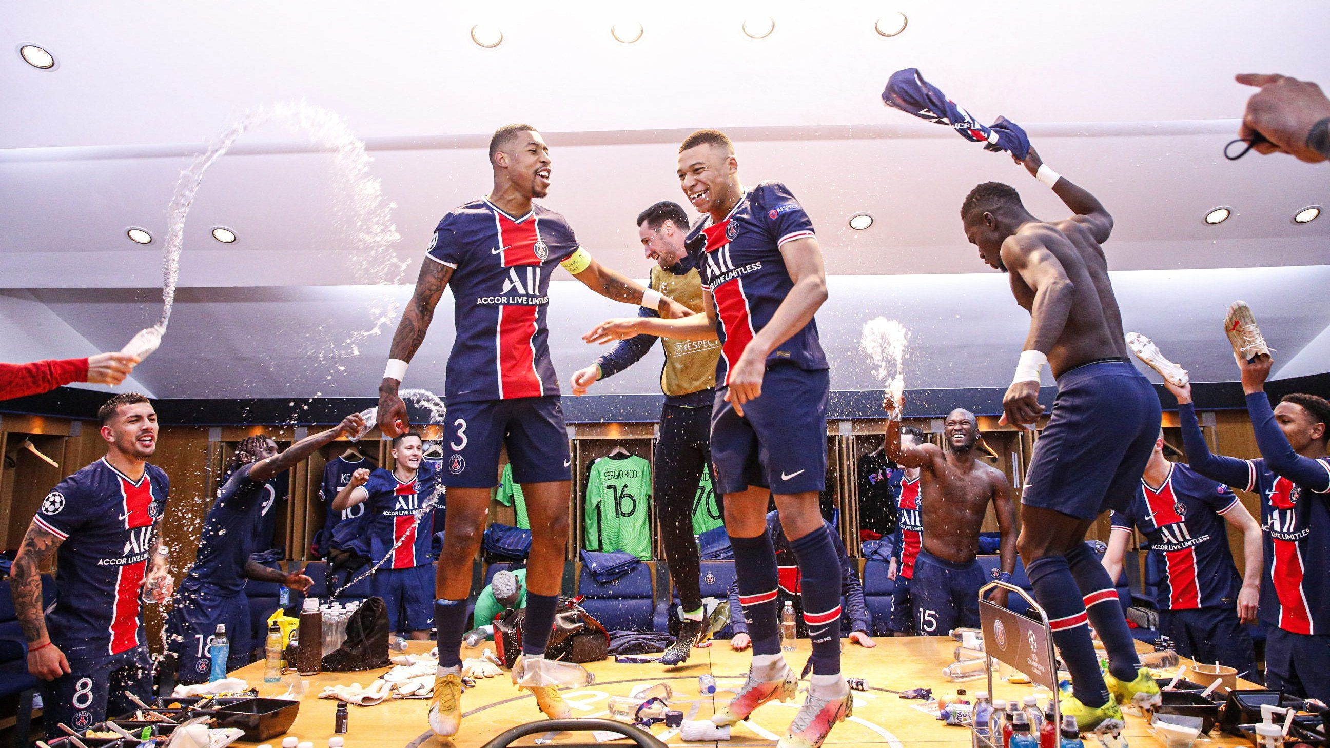 PSG knock out Bayern from the Champions League
