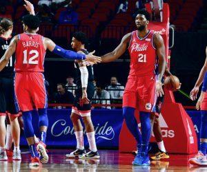 Philadelphia 76ers winnign streak Joel Embiid