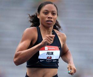 Allyson Felix was the first athlete to dump Nike for the Gap