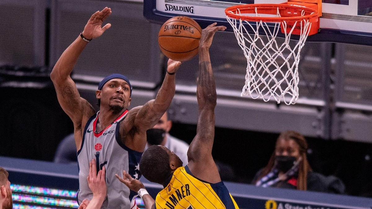 Bradley Beal Washington Wizards Indiana Pacers Play-in Tournament NBA Eastern Conference playoffs