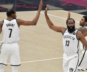 Brooklyn Nets Big 3 NBA Championship Odds Lakers Bucks Clippers 2021 title futures betting