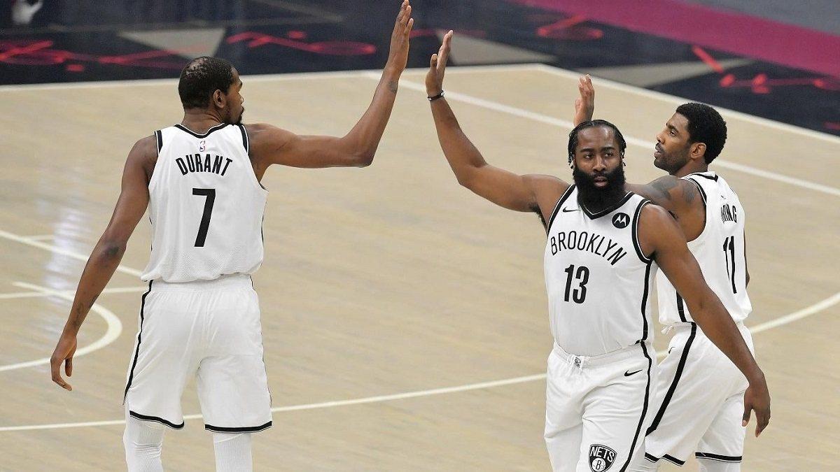 Brooklyn Nets Big 3 NBA Championship Odds Lakers Bucks Clippers 2021 title futures betting