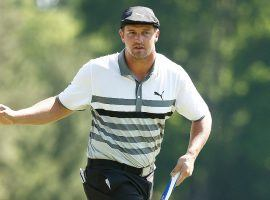 Bryson DeChambeau comes into the Byron Nelson as the betting favorite after taking the lead in the FedEx Cup standings. (Image: Getty)