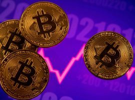Bitcoin and other cryptocurrencies have experienced dramatic price drops in recent days, impacting the prices of sports NFTs like Topps MLB as well. (Image: Dado Ruvic/Reuters)
